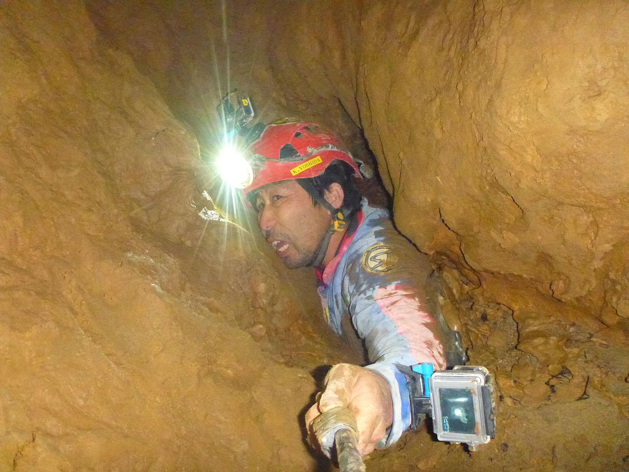 吉田勝次は破天荒な洞窟探検家。しかしそれには深い理由がある